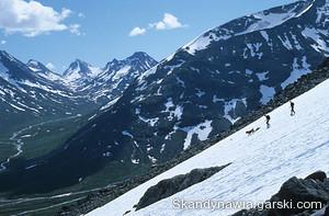 góry jotunheimen mapa